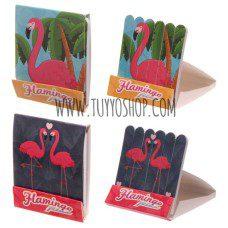 Mini limas de uñas en caja de cerillas Flamenco