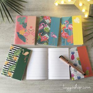 Cuadernos originales y económicos para invitadas ¡Que vivan los detalles funcionales! 9
