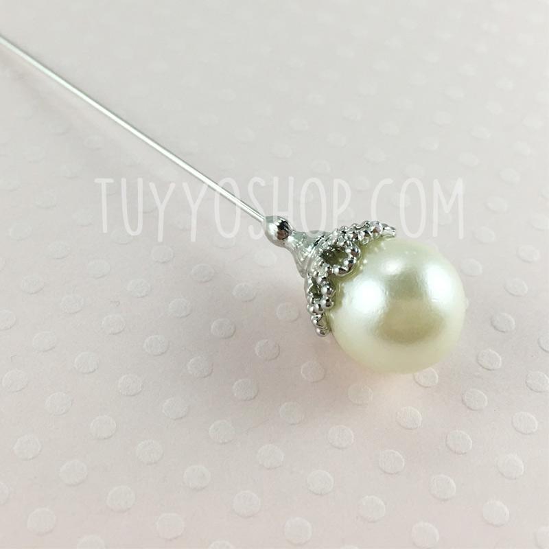 Alfiler para boda perla mod-27-2