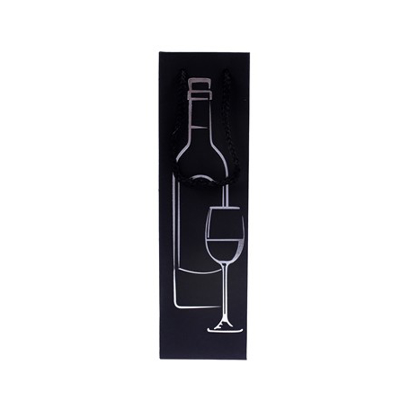 Bolsa papel botella vino