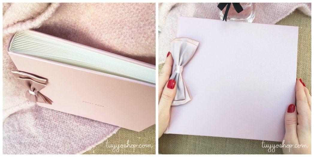 collage libros de firmas rosa