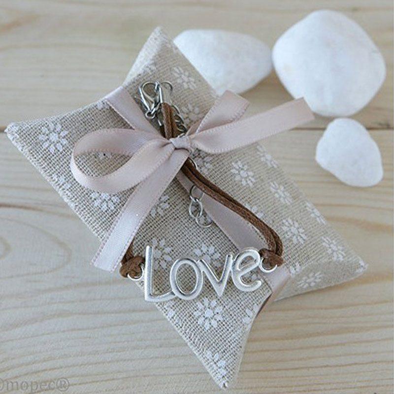 Estuche tela pulsera love
