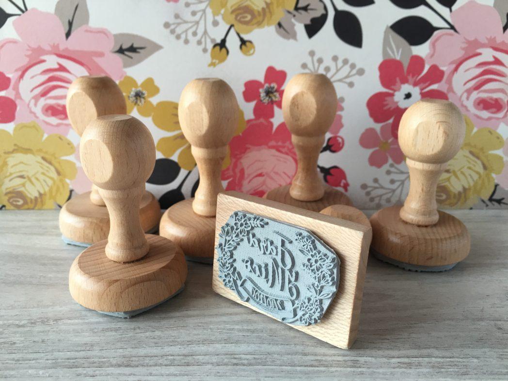 sellos de boda personalizados :)