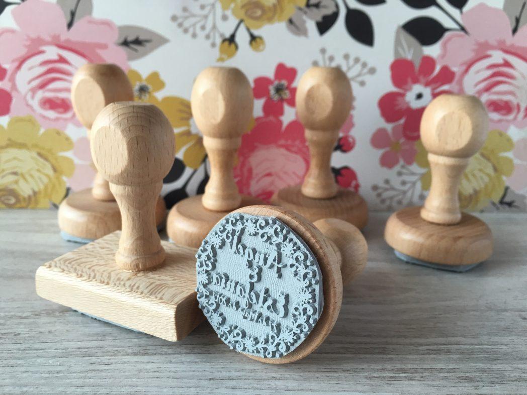sellos de boda personalizados
