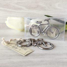 Abrebotellas bicicleta en caja de regalo