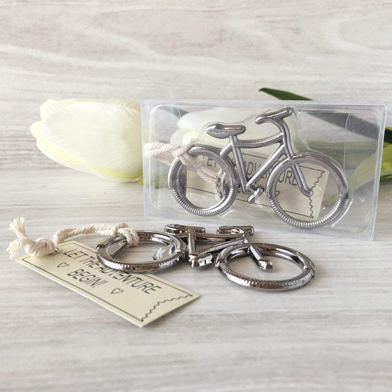 Abrebotellas bicicleta en caja de regalo detalles de boda for Detalles de boda para hombres