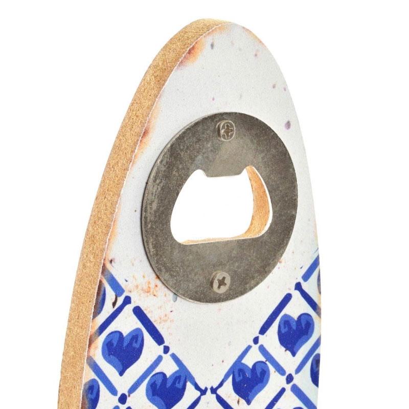 Abrebotellas de madera. Modelo Blue Paradise. 4 modelos. 7x20cm