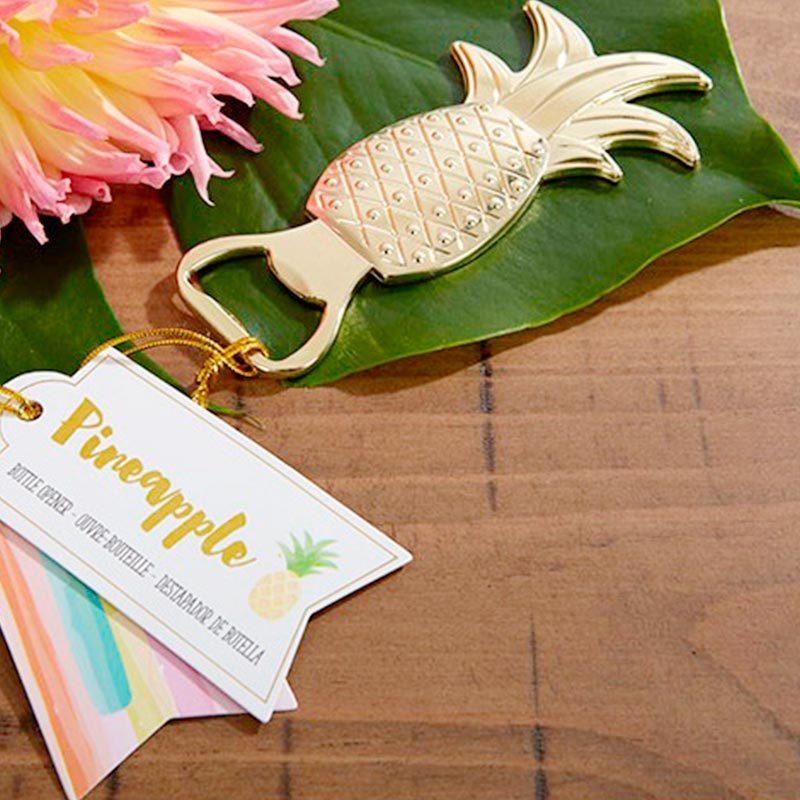 Abrebotellas tropical modelo piña