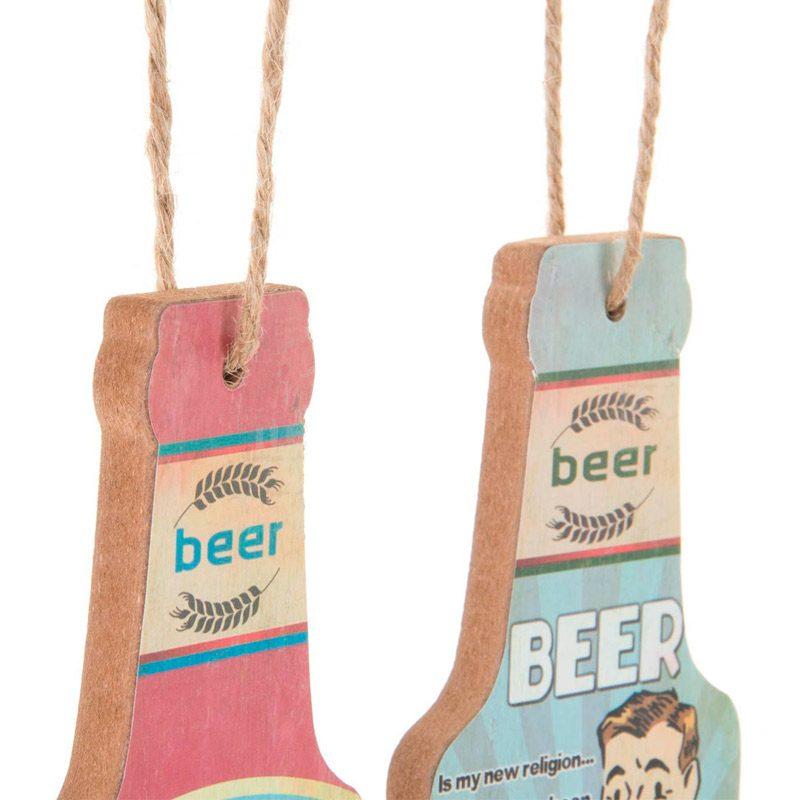 Abrebotellas Vintage con motivos de Cerveza