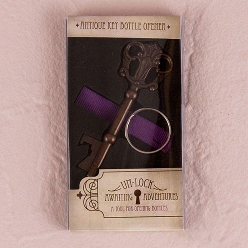 Abridor de botella llave antigua