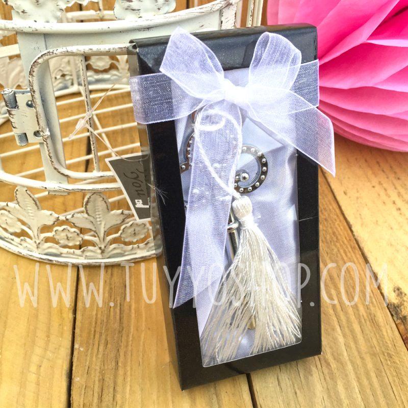 Abridor para bodas modelo llave