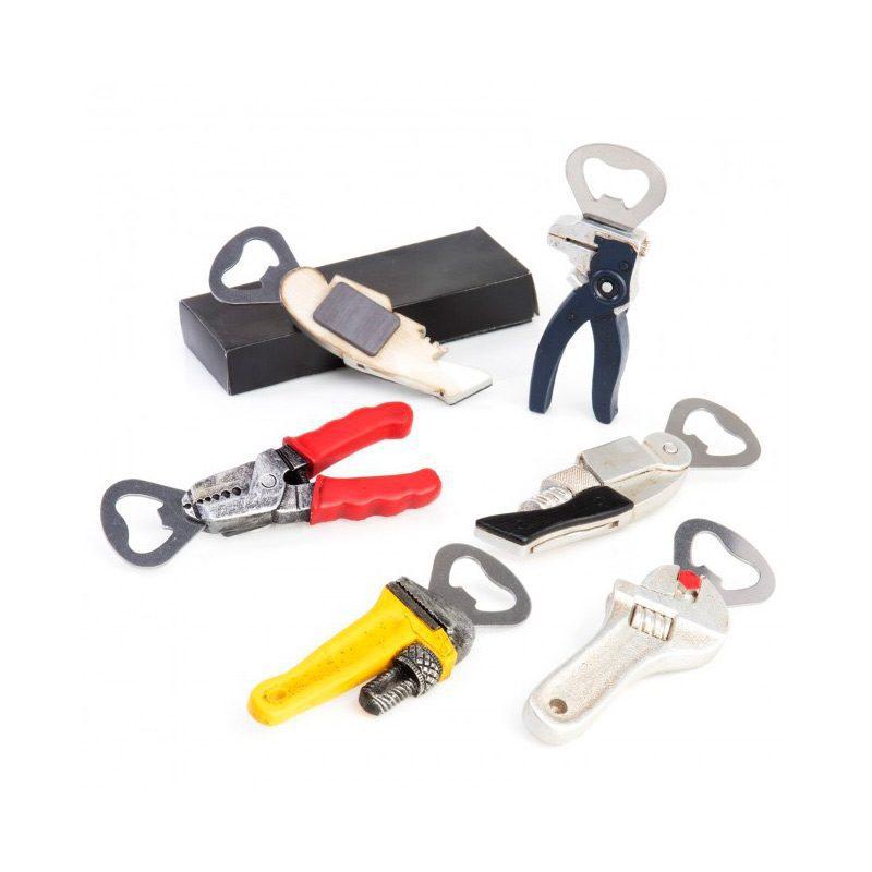Abridor para boda. Modelo herramientas. Incluye caja.