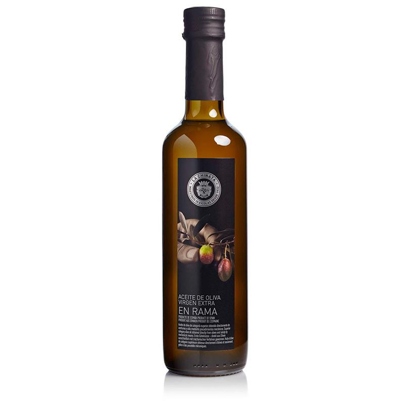"""Aceite de oliva para eventos. Selección """"en rama"""". 500ml"""