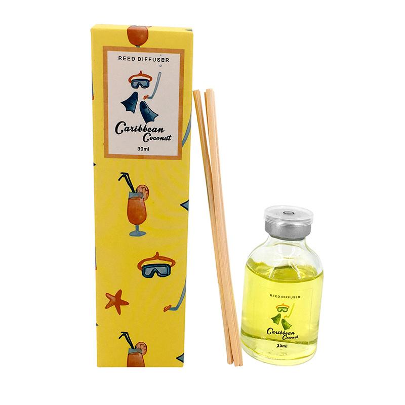 Ambientador mikado para boda. 30ml. Caja a juego. 6 aromas.