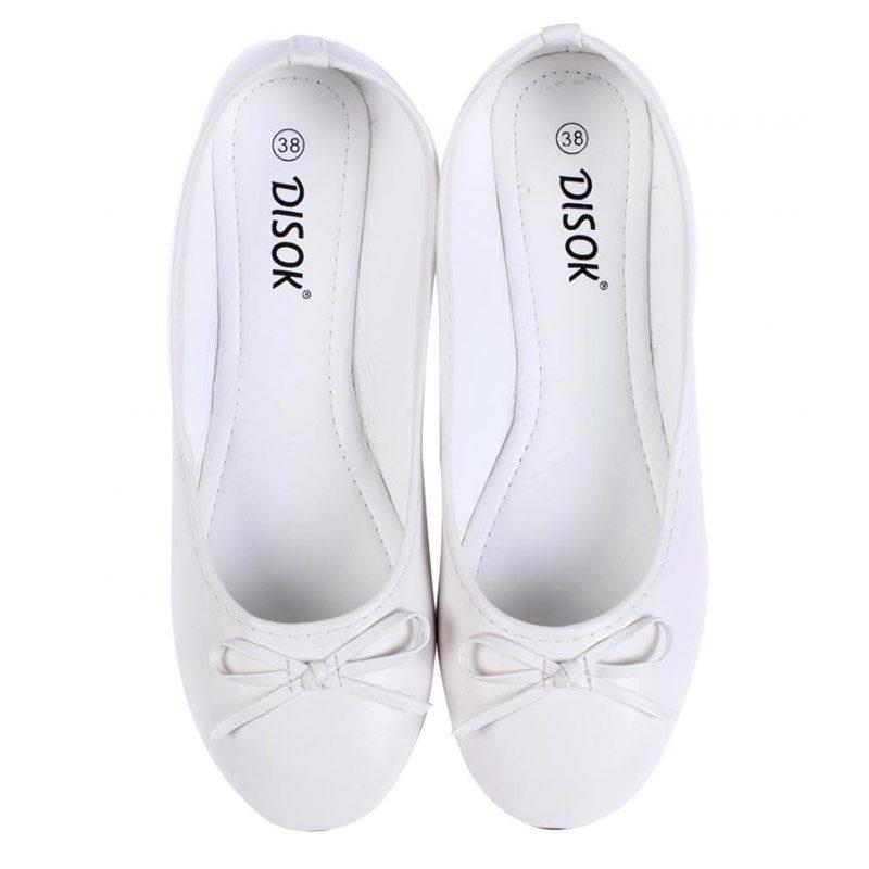 Bailarinas para boda en color blanco.
