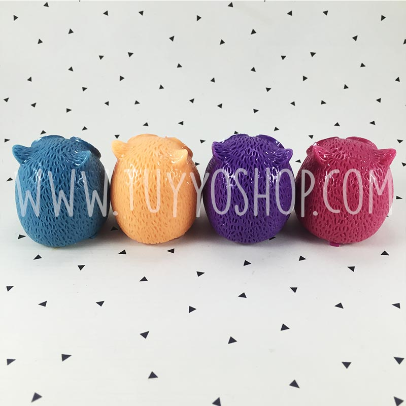 Balsamo labial para boda diseño buho