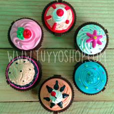 Balsamo labial cupcake