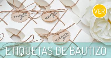 Bautizo banner etiquetas de bautizo