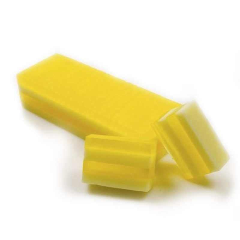 Barra de jabón glicerina aceite de oliva extra, limón