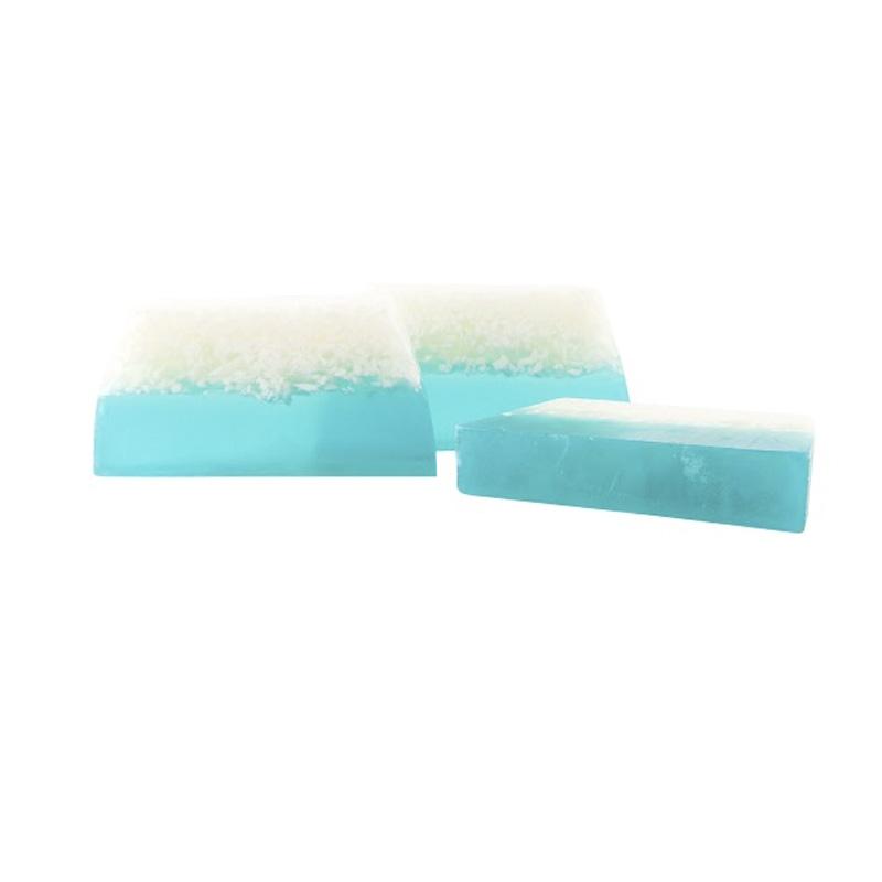 Barra de jabón glicerina con aroma a algodón