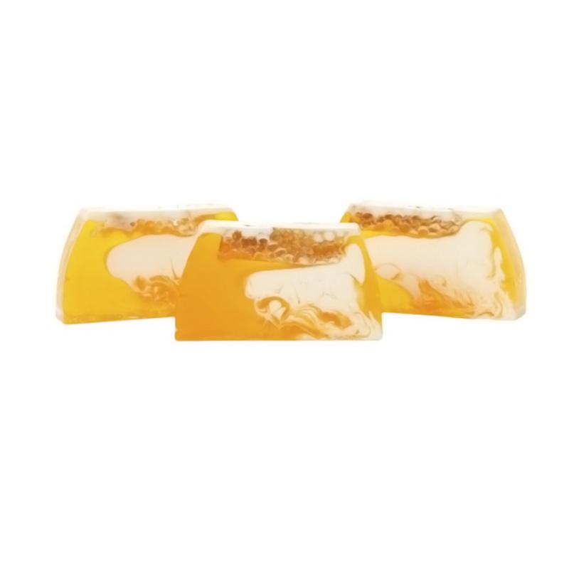 Barra de jabón glicerina con miel auténtica