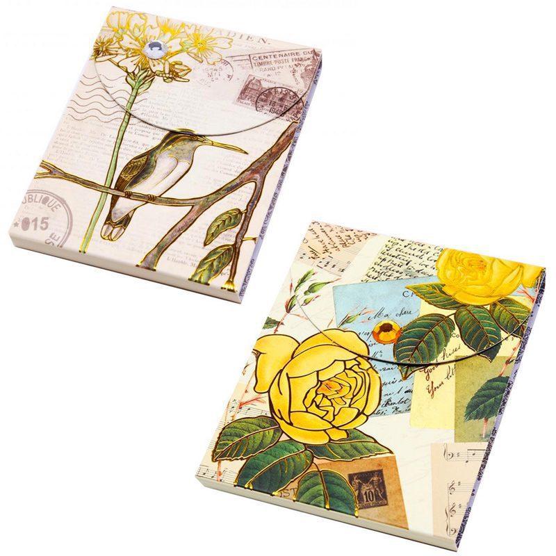 """Bloc de notas """"estampado floral-retro"""" bloc estampado floral 6"""