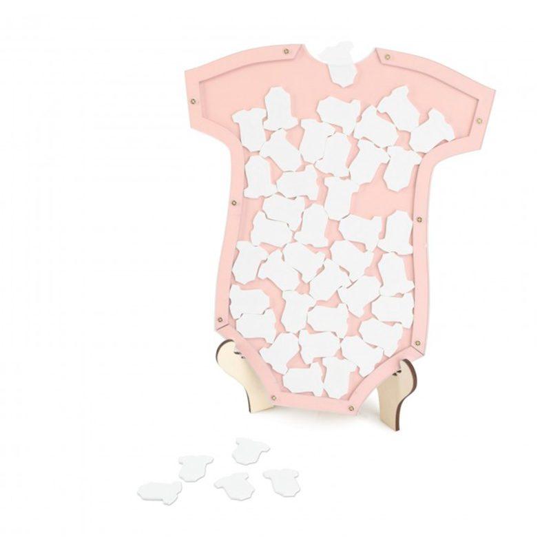 Body de los deseos. 25x30cm. 40 bodies. Rosa body de los deseos 25x30cm 40 bodies rosa
