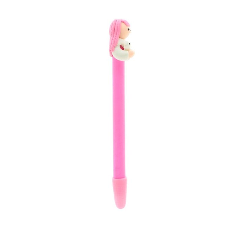 Bolígrafo comunión niña en color rosa