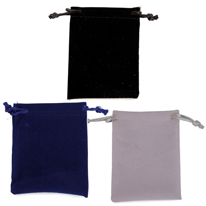 Bolsa de Antelina para regalos. Varios colores. 10x8cm
