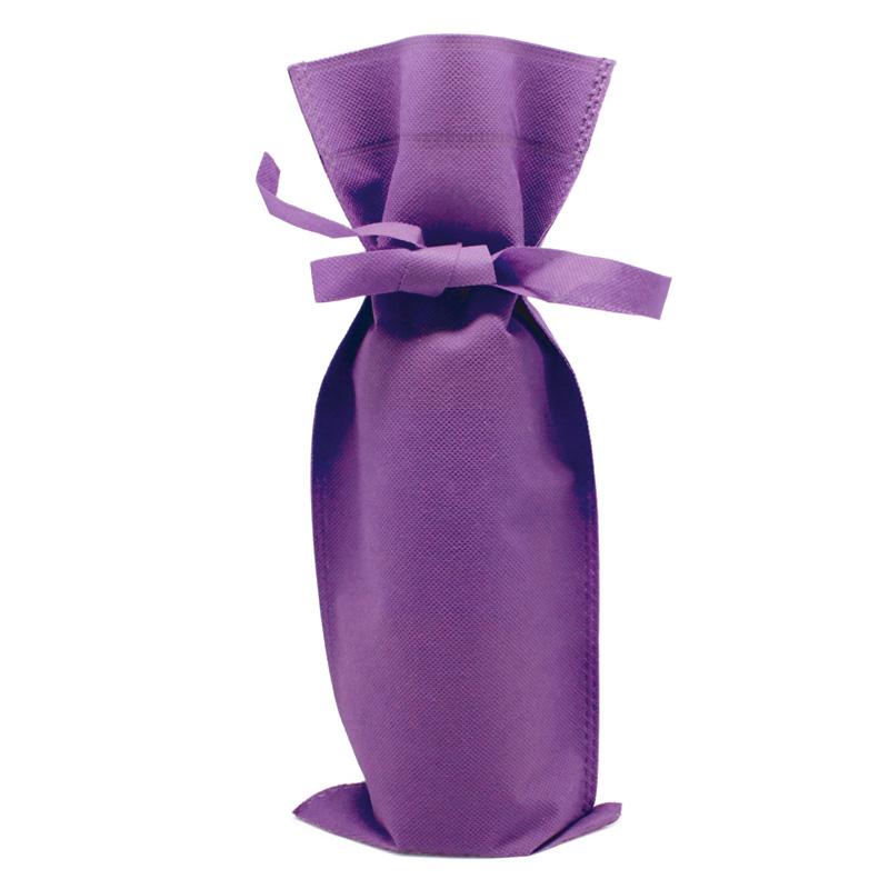 Bolsa de regalo para vino, varios colores bolsa de regalo para vino varios colores lila