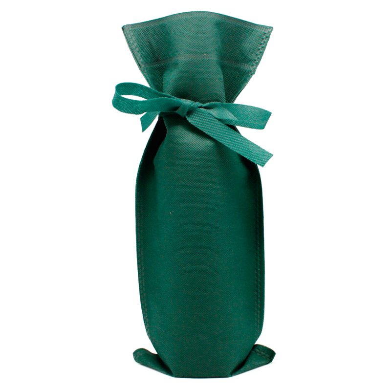 Bolsa de regalo para vino, varios colores bolsa de regalo para vino varios colores verde