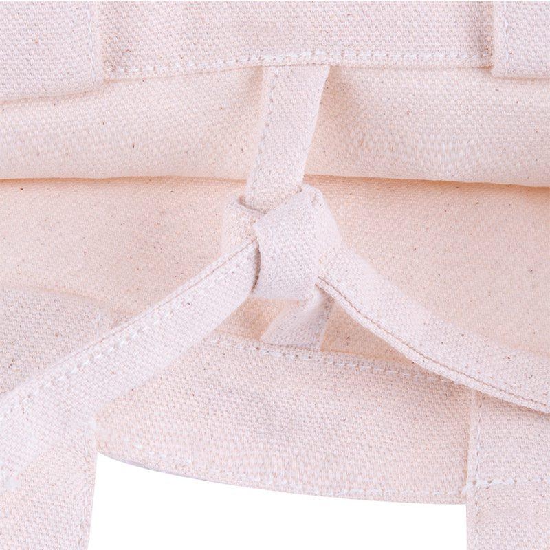Bolsa de algodón ecológico, cinta interior, modelo Pampa, 26x17cm bolsa ecologica bodas modelo pampa3