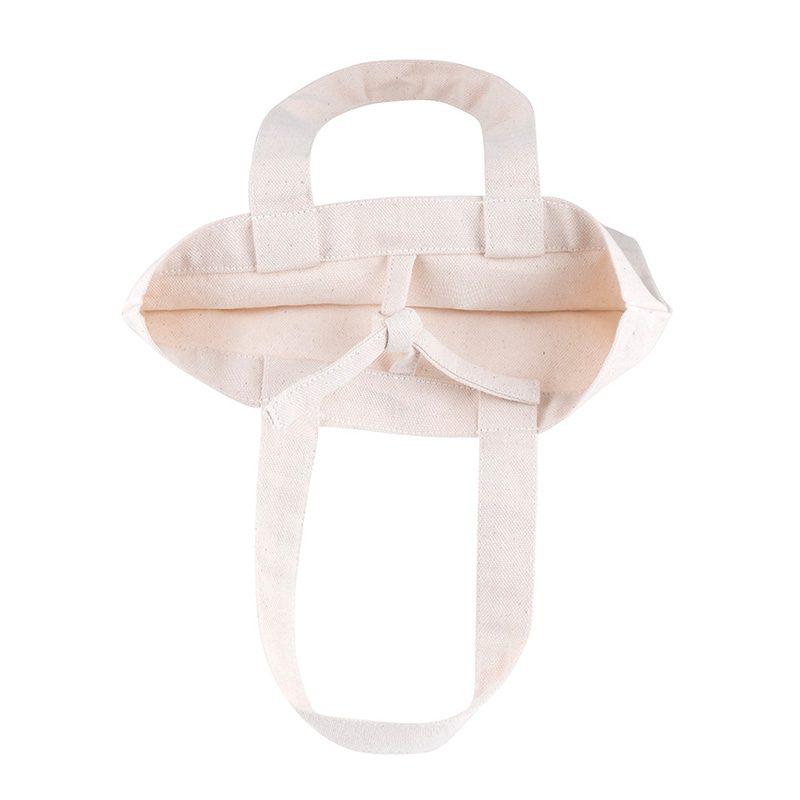 Bolsa de algodón ecológico, cinta interior, modelo Pampa, 26x17cm bolsa ecologica bodas modelo pampa4