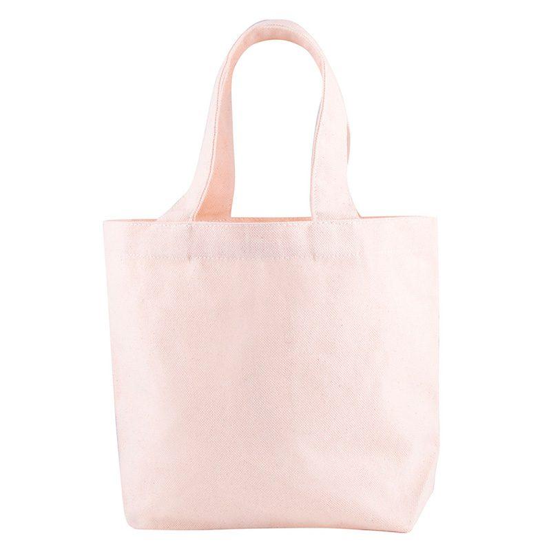 Bolsa de algodón ecológico, cinta interior, modelo Pampa, 26x17cm bolsa ecologica bodas modelo pampa5
