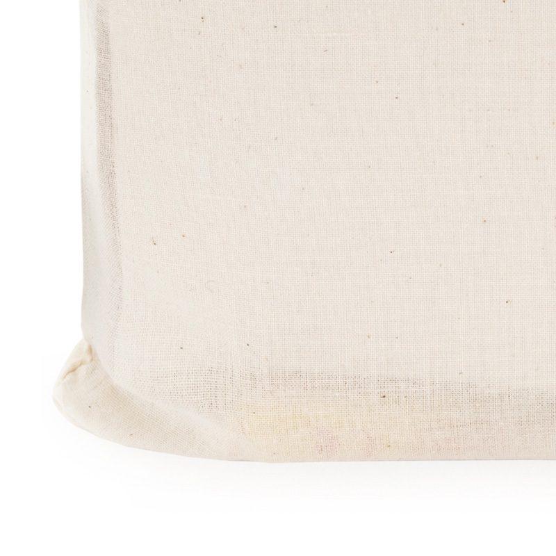 Bolsa 100% algodón. En color natural. Asas largas. 70cm bolsa ecologica para regalo de boda 2