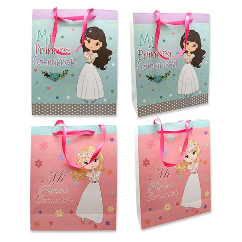 Ultimos regalos para invitados añadidos bolsa papel para regalo comunion nina 2 modelos