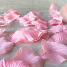 Bolsa de pétalos de rosas rosa
