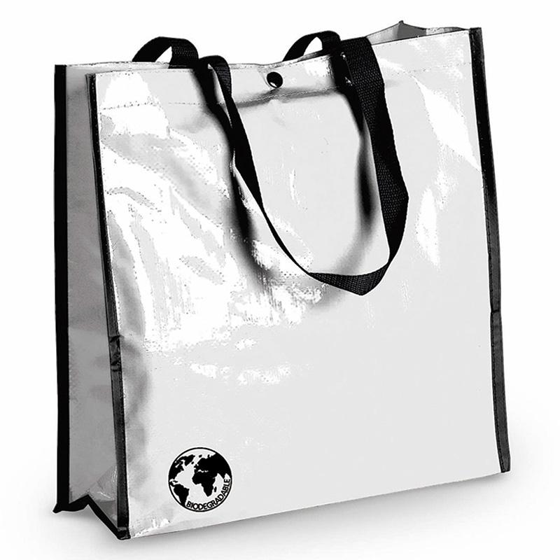 Bolsa biodegradable. Varios colores. Asas reforzadas. Acabado cosido. bolsa recilada detalles boda