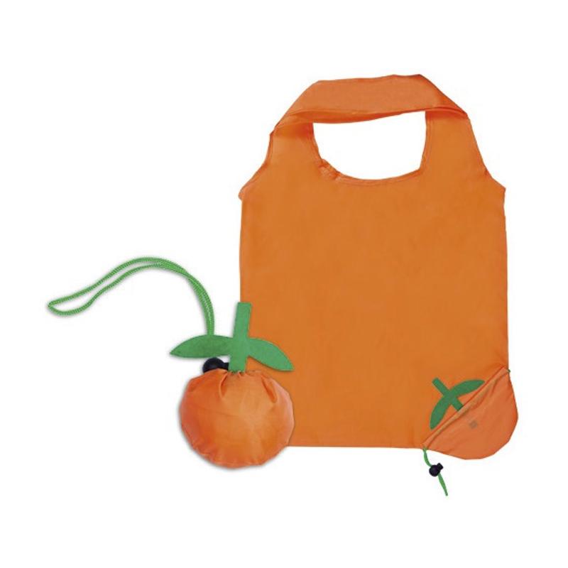 Bolsa plegable diseño naranja