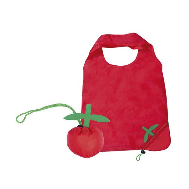 Bolsa plegable diseño tomate