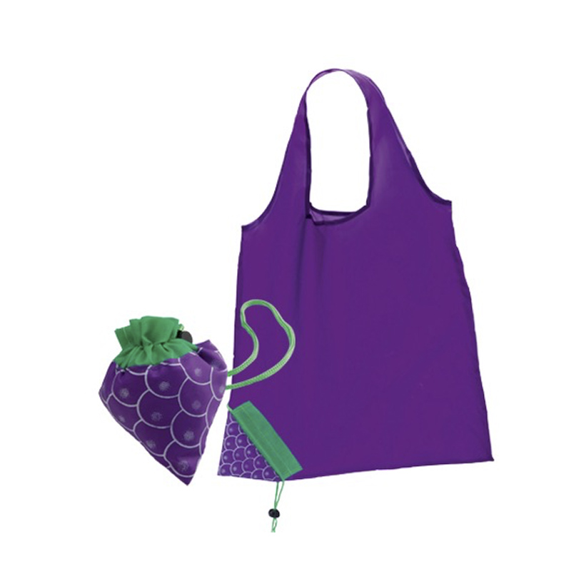 Bolsa plegable diseño uva