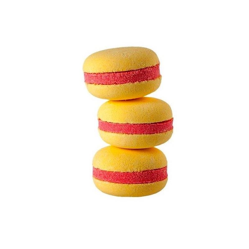 Macarons de baño hidratante. Freesia