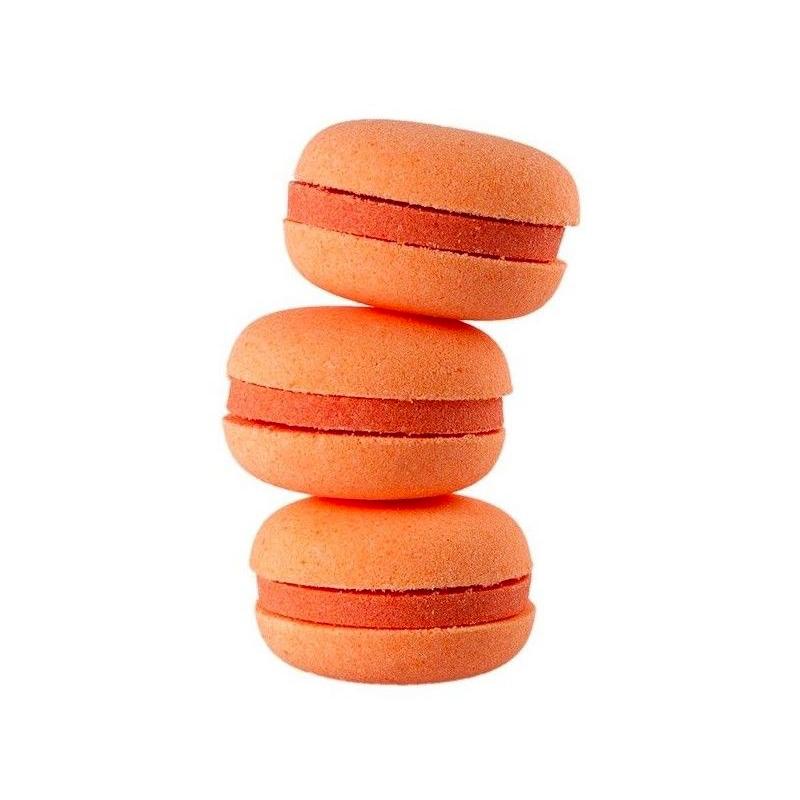 Macarons de baño hidratante. Pomelo