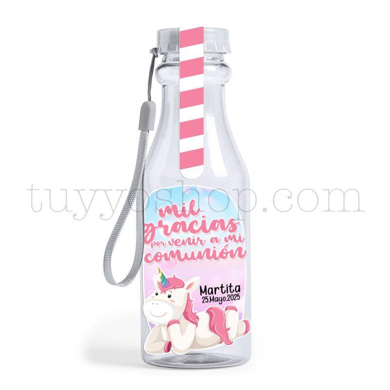 Ultimos regalos para invitados añadidos bote golosina comunion unicornio