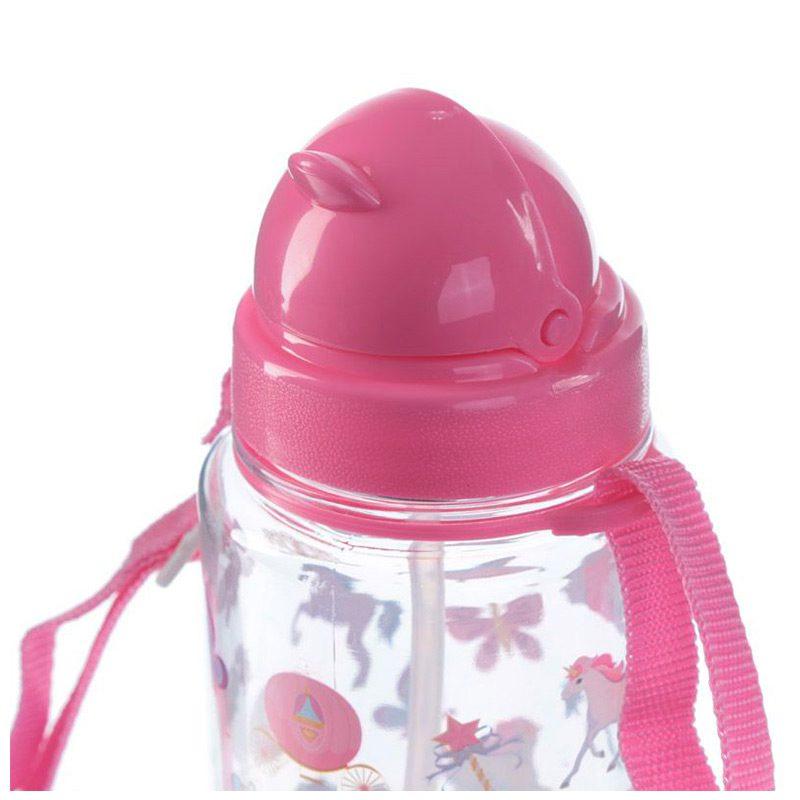 Botella de agua infantil, plástico, con pajita, unicornio, 450ml botella agua infantil pajita unicornio 450ml 6