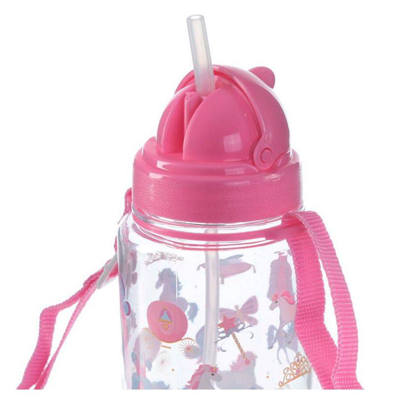 Botella de agua infantil, plástico, con pajita, unicornio, 450ml botella agua infantil pajita unicornio 450ml 7