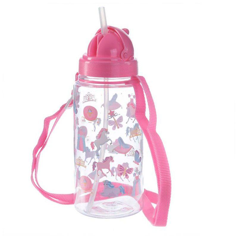 Botella de agua infantil, plástico, con pajita, unicornio, 450ml botella agua infantil pajita unicornio 450ml 8