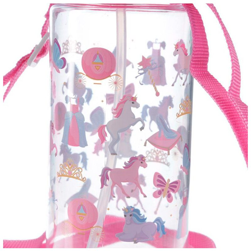Botella de agua infantil, plástico, con pajita, unicornio, 450ml botella agua infantil pajita unicornio 450ml 9