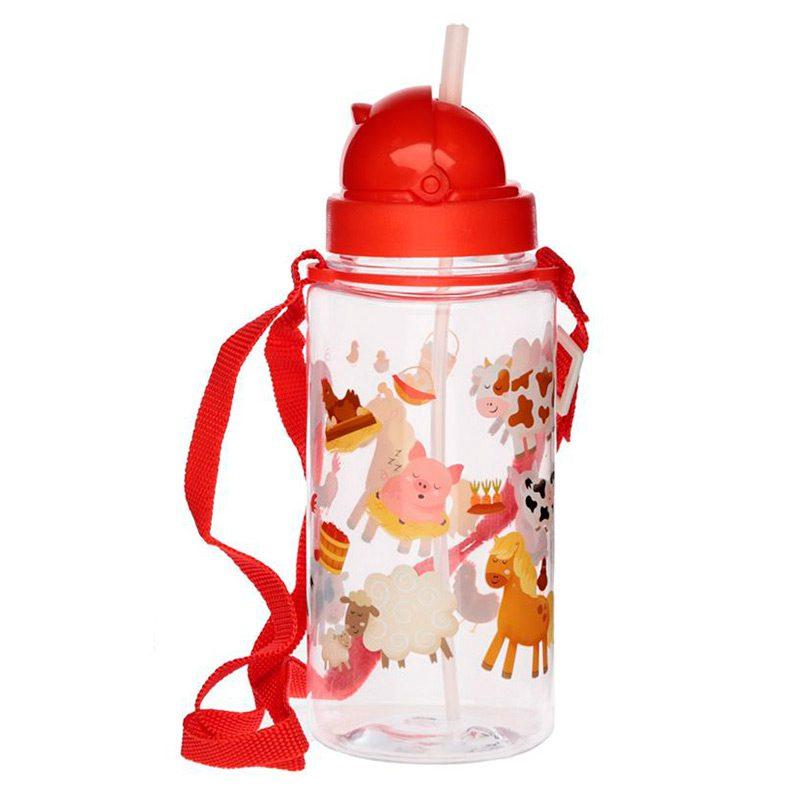 Ultimos regalos para invitados añadidos botella infantil granja 450