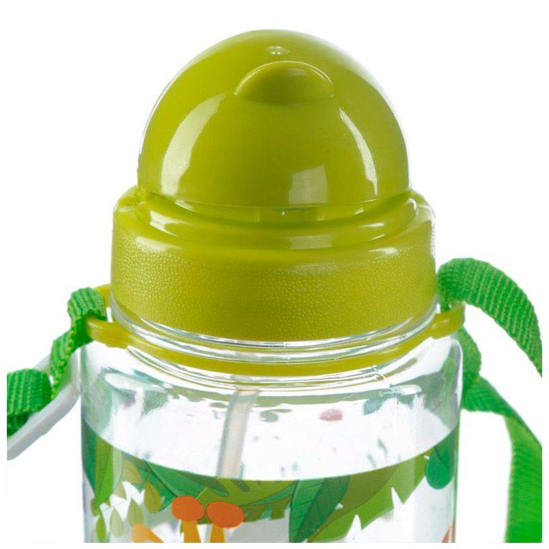 Botella de agua infantil, plástico, con pajita, selva, 450ml botella infantil selva 450 6